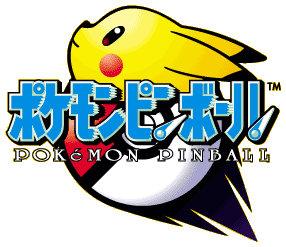 Logo Pokémon Pinball (Japan)