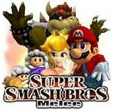 Logo Super Smash Brothers Melee