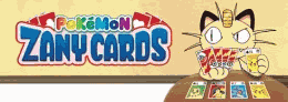 Logo Pokémon Zany Cards Mini